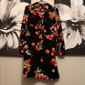 Comfy and classy floral dress 🌺